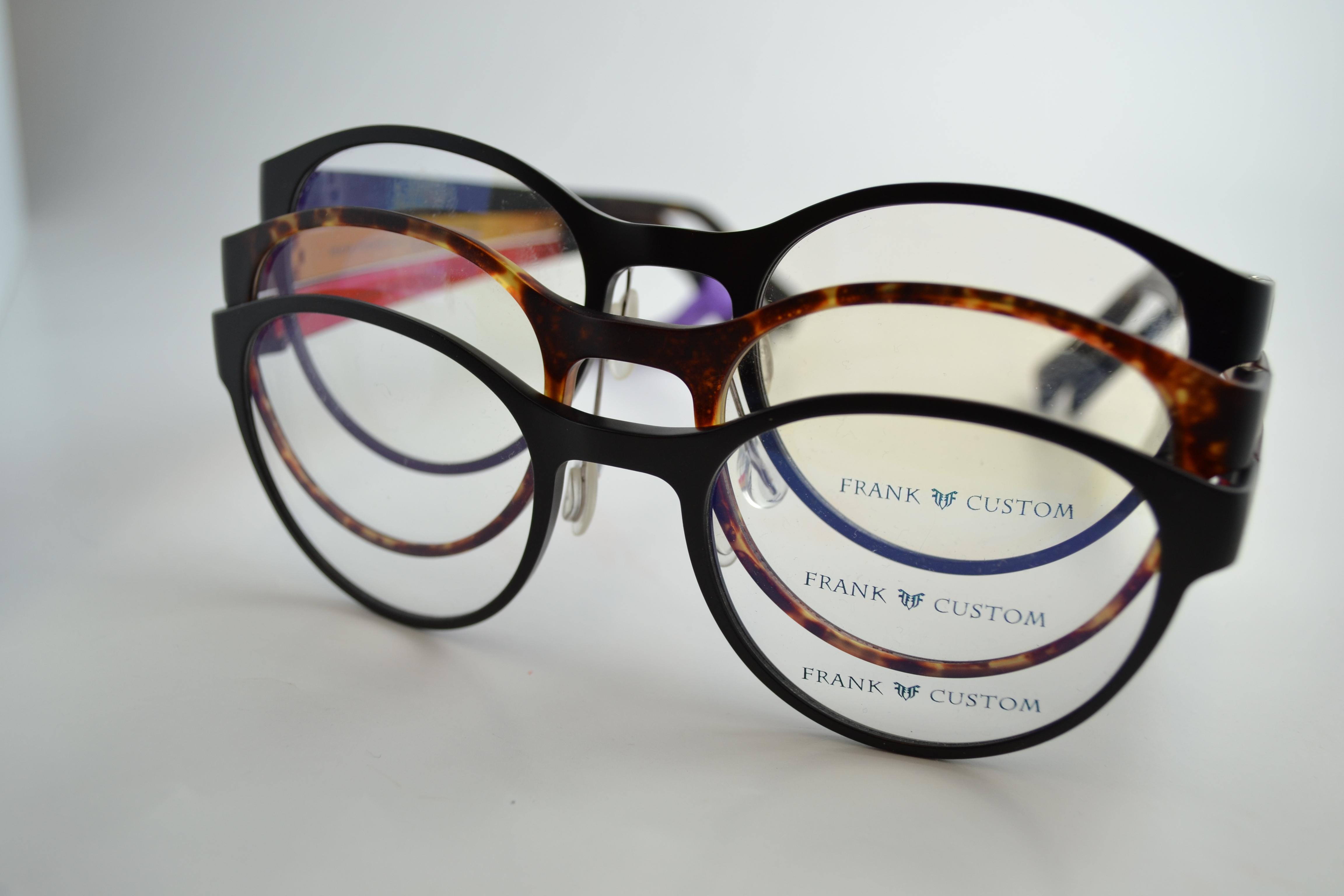 Frank Custom | Providence Optical