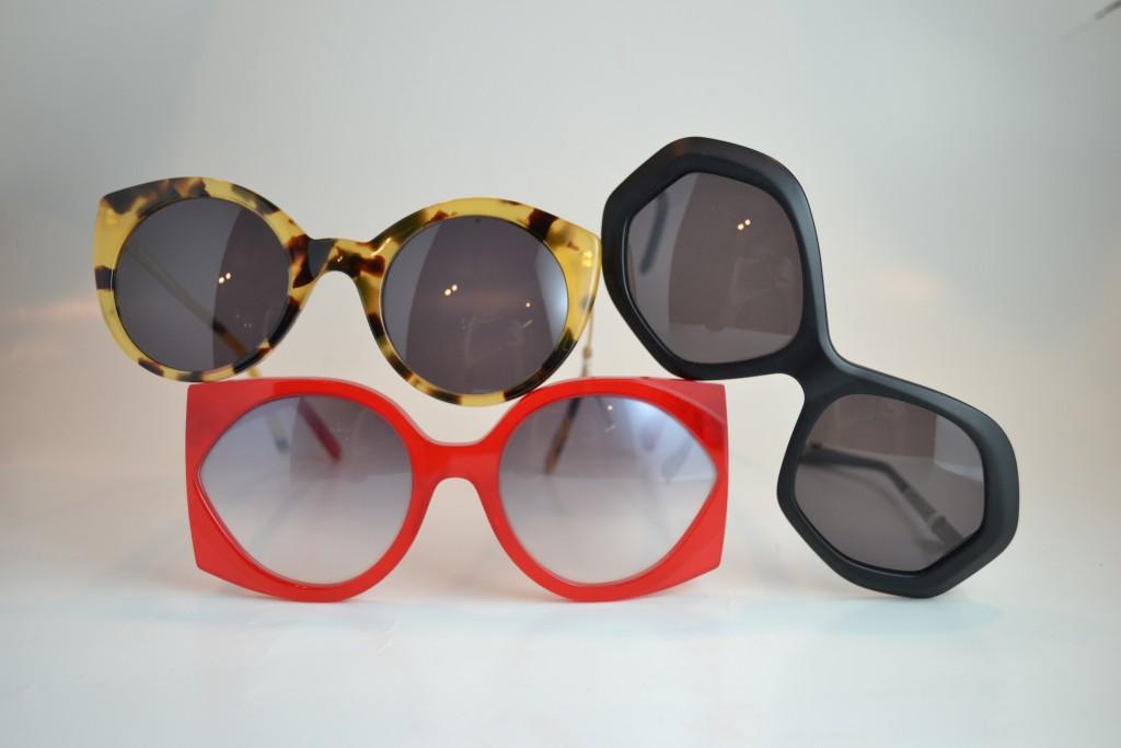 Geometric/bold frames