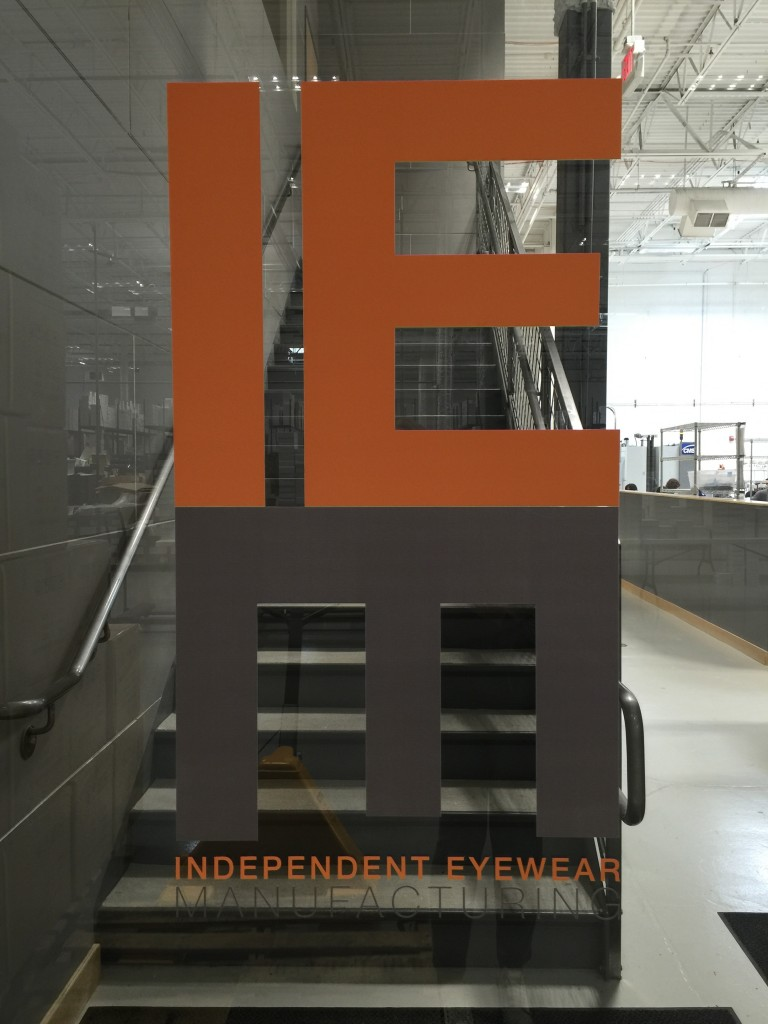 IEM-Independent Eyewear Manufacturing