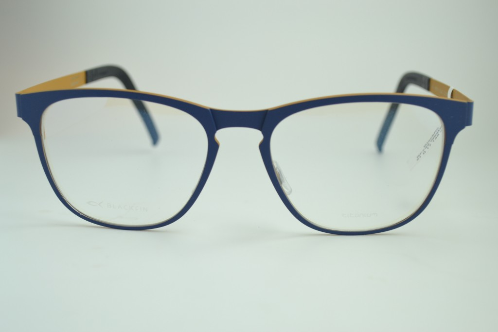 2-color titanium frame