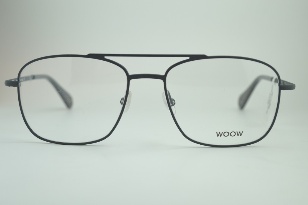 Titanium frame by WOOW (France) with matte gray finish