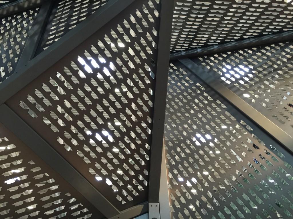 Inside of Blackfin titanium booth