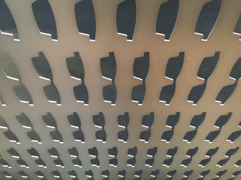 Titanium panel