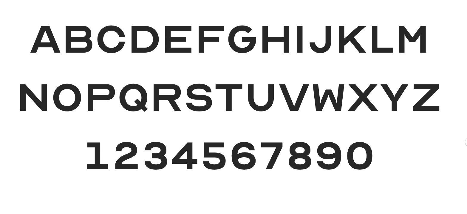 Design firm ANTI Hamar has created a typeface based on the traditional eye chart. It's called OPTICIAN SANS
