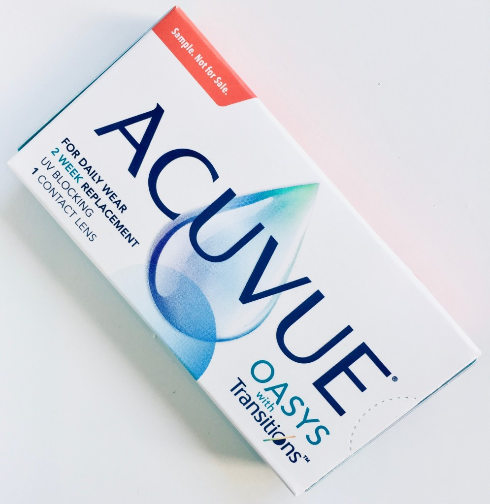 Free samples of Acuvue Oasys with Transitions are available at Providence Optical