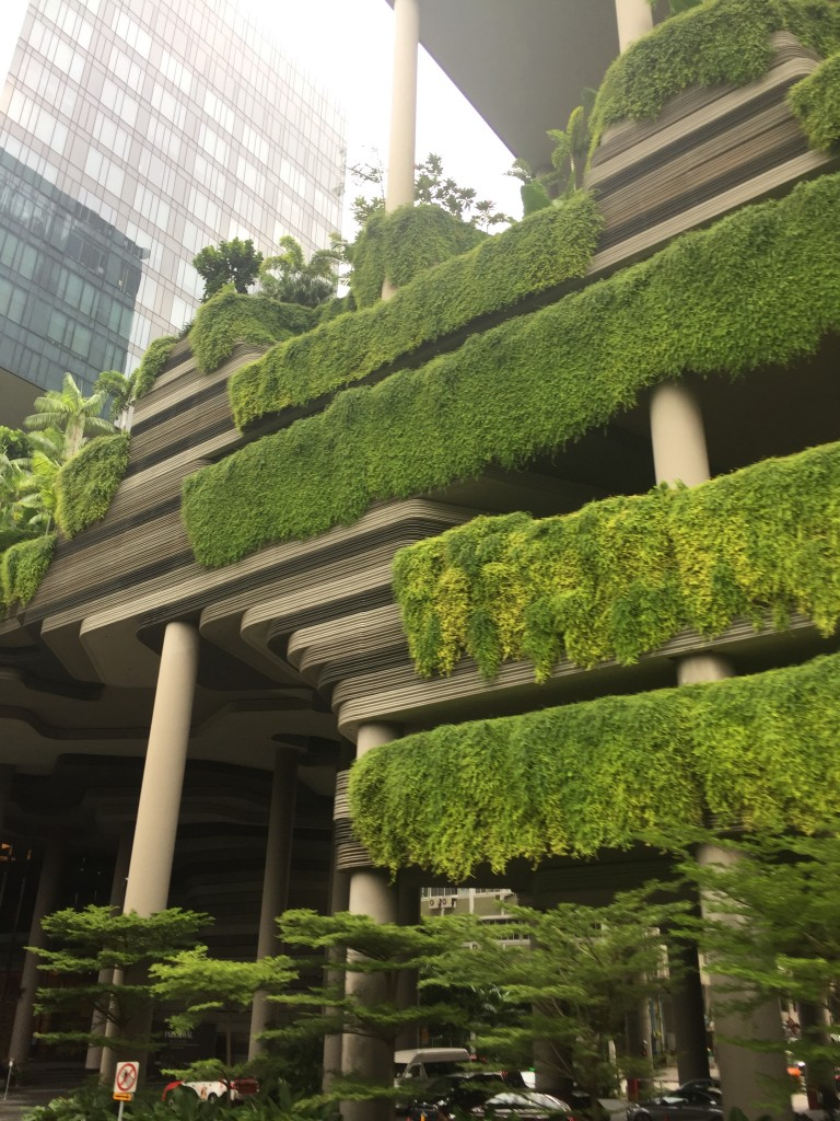 Greenery as part of architectural design, Singapore